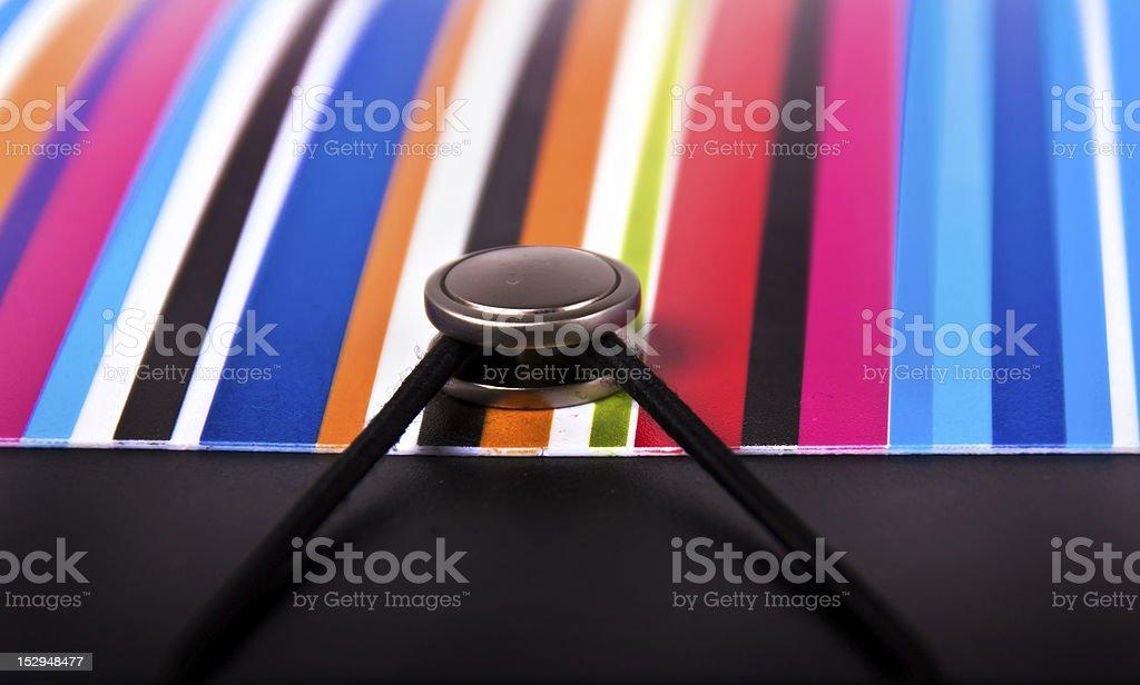Colors folder 2 royalty-free stock photo