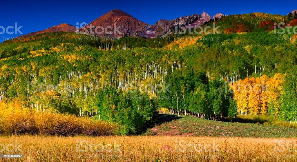 Colors Of A Colorado September stock photo