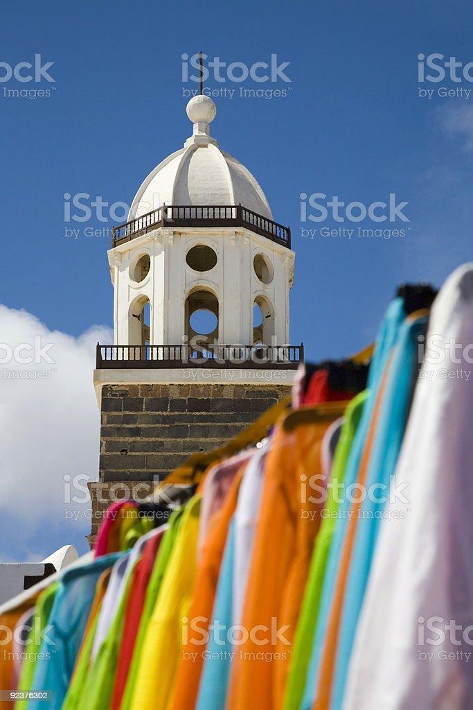 Farben der Kanarischen Inseln Lizenzfreies stock-foto
