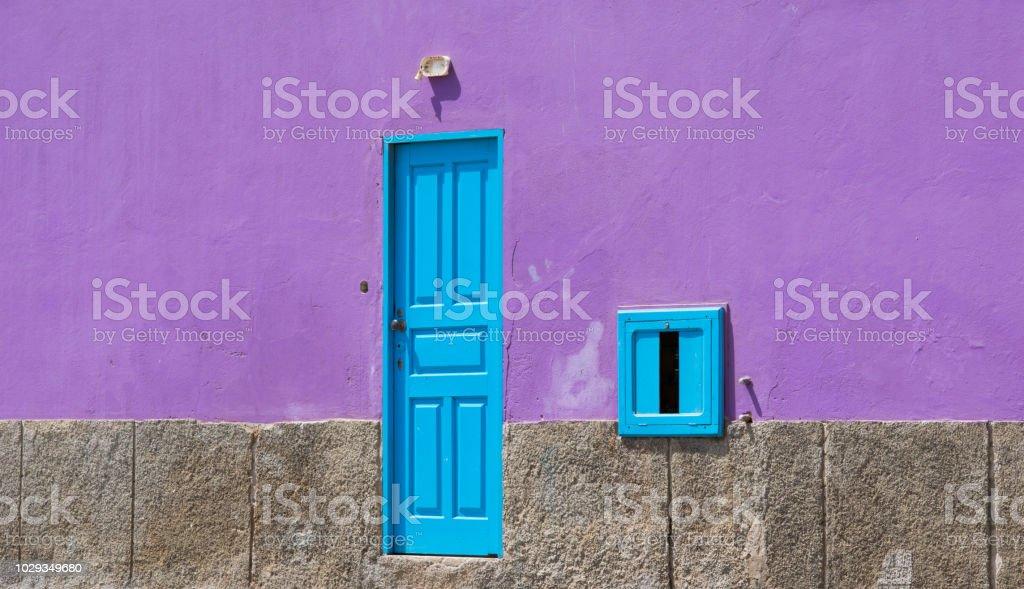Colors of Cape Verde stock photo