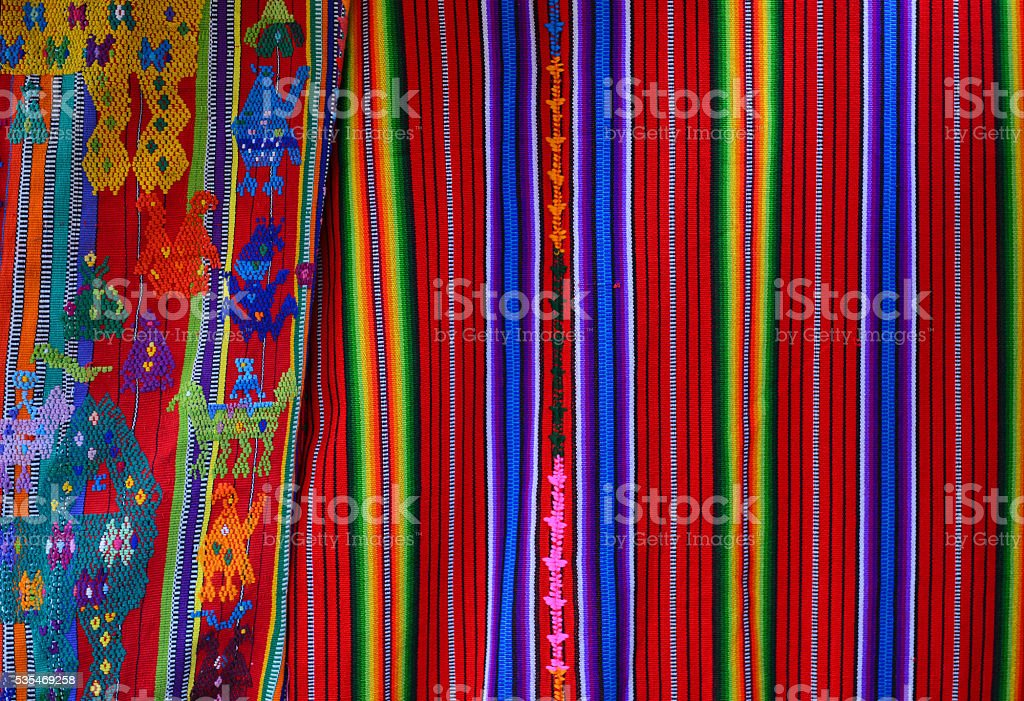 Colors of Guatemala stock photo
