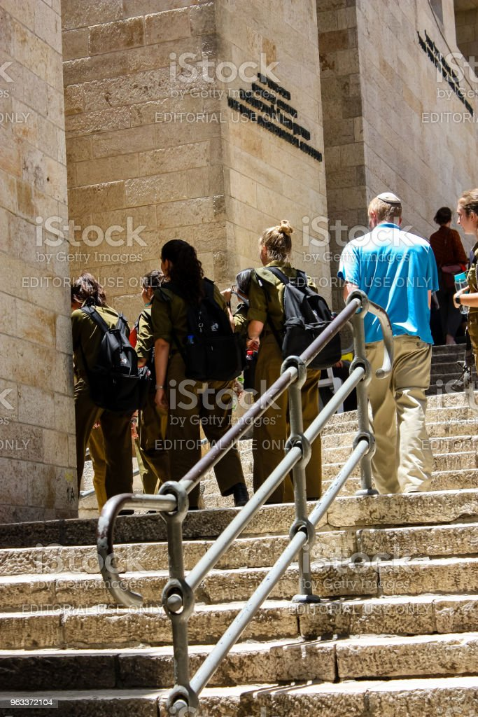 colors of Israel - Zbiór zdjęć royalty-free (Armia)