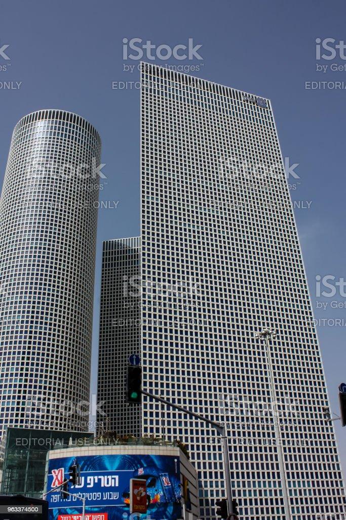 färger av Israel - Royaltyfri Arkitektur Bildbanksbilder