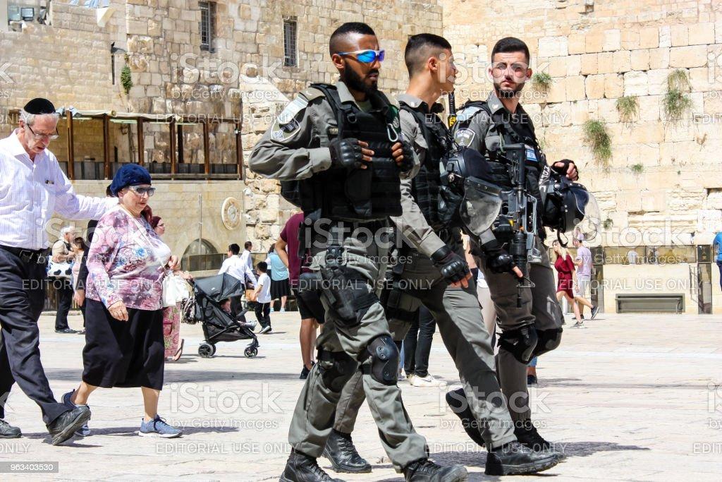 colors of Israel - Zbiór zdjęć royalty-free (Architektura)