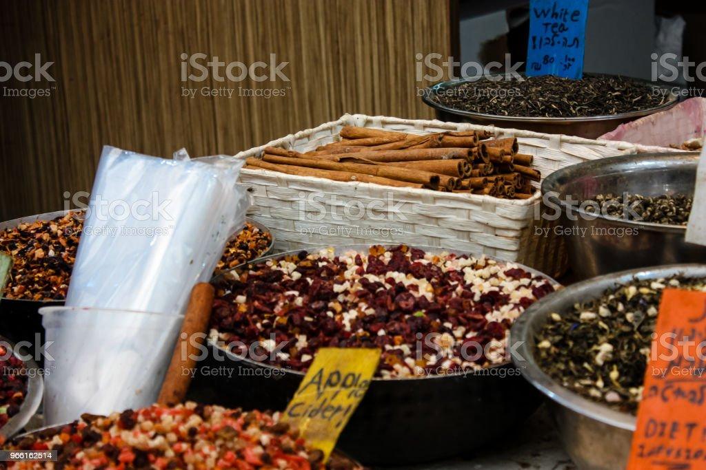 colors of Israel - Royalty-free Bazaar Market Stock Photo
