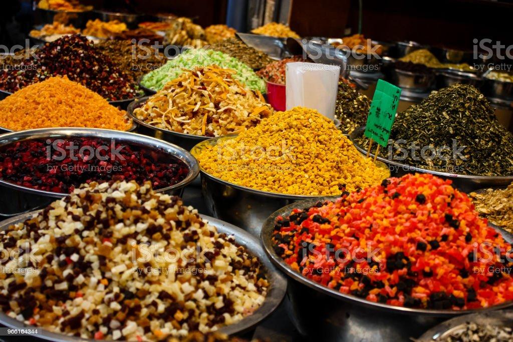kleuren van Israël - Royalty-free Bazaar Stockfoto