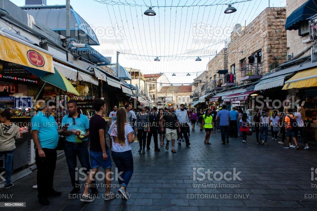 färger av Jerusalem - Royaltyfri Affär Bildbanksbilder