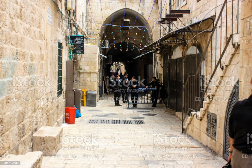 colors of Jerusalem royalty-free stock photo