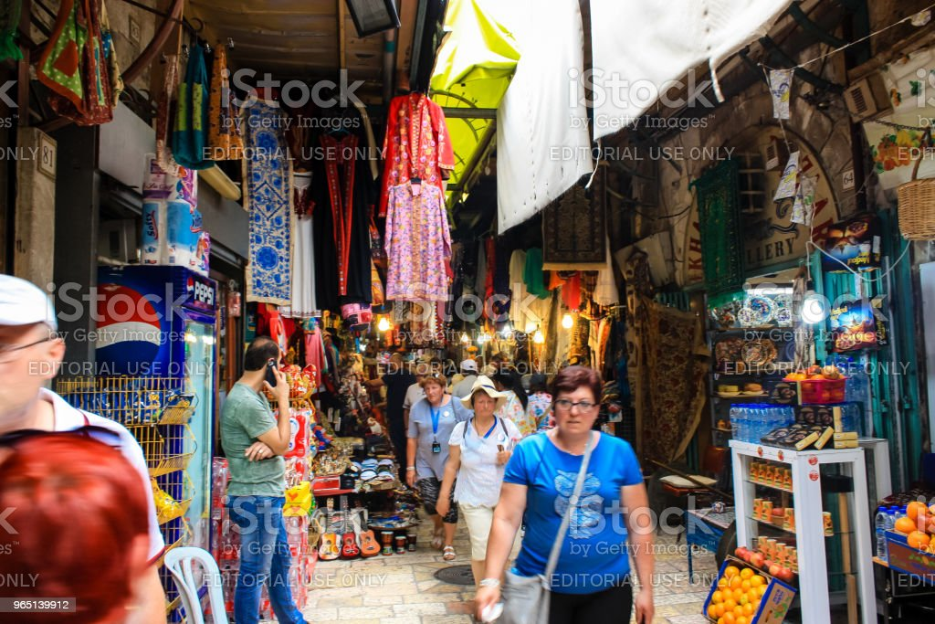 colors of Jerusalem zbiór zdjęć royalty-free