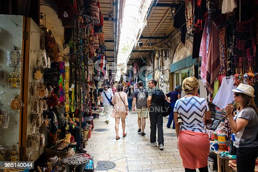 Colors Of Jerusalem Stock Photo & More Pictures of Ancient