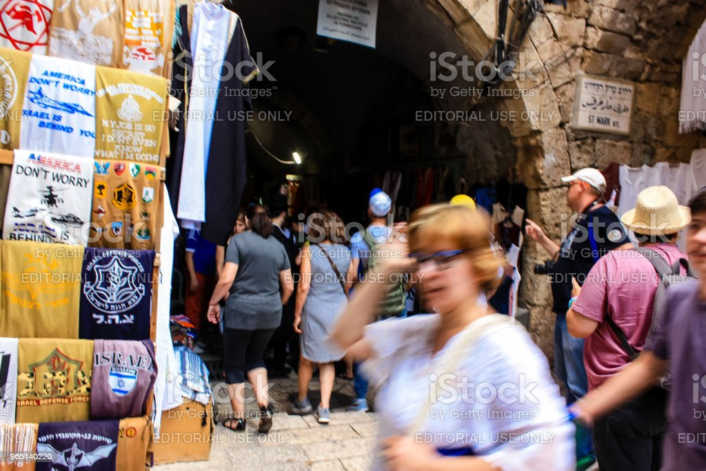 colors of Jerusalem royalty-free stock photo