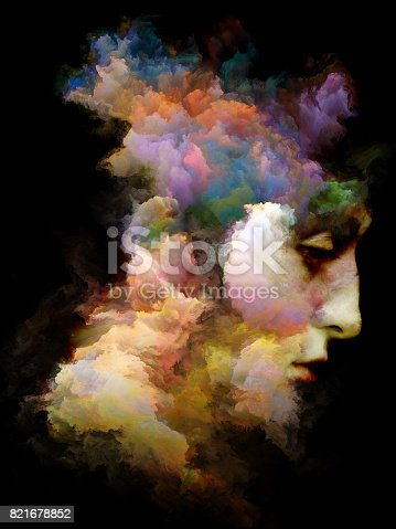 663794638 istock photo Colors of Mind 821678852