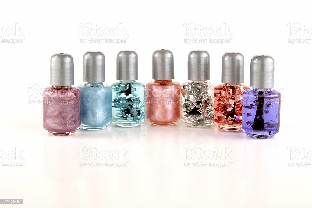 Farben von Nagellack Lizenzfreies stock-foto