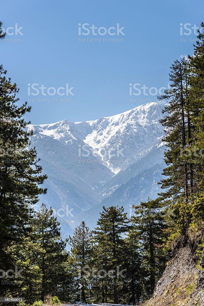 Farben der Natur Olympus Mountain – Foto