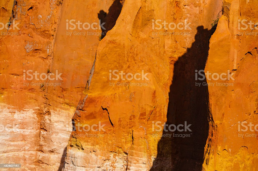 colors of ochre stock photo