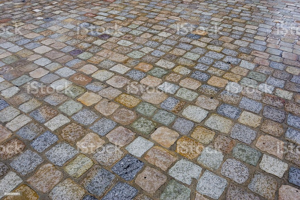 colors of pavement royalty-free stock photo