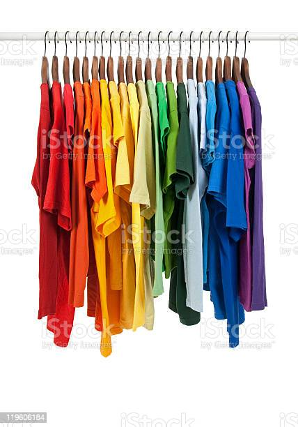 Colors of rainbow shirts on wooden hangers picture id119606184?b=1&k=6&m=119606184&s=612x612&h=cibswdnjji eoz7ks0wy54p9dun dpsncly59czvfpk=