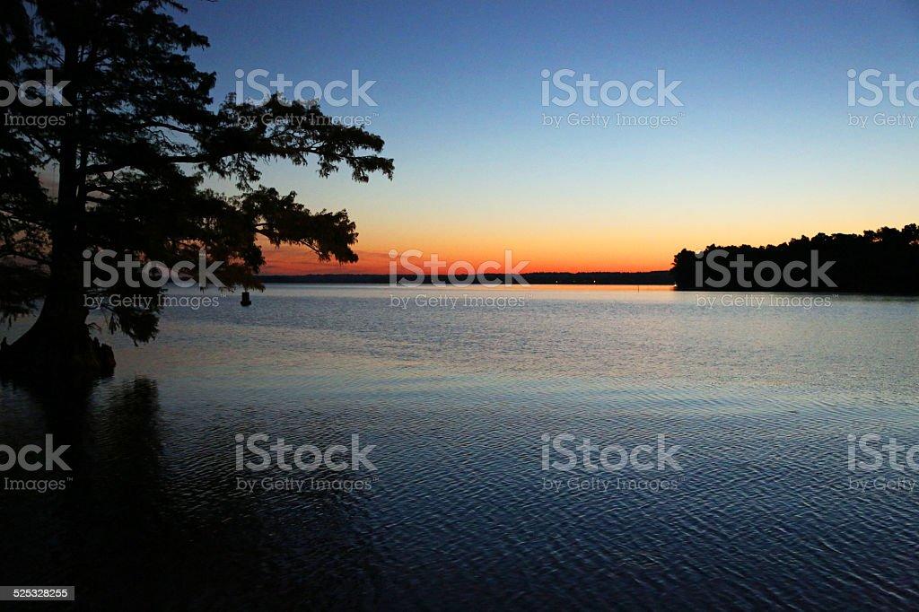 Colors of sunrise stock photo