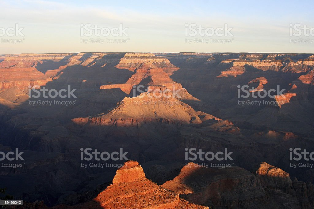 Colori del Canyon foto stock royalty-free