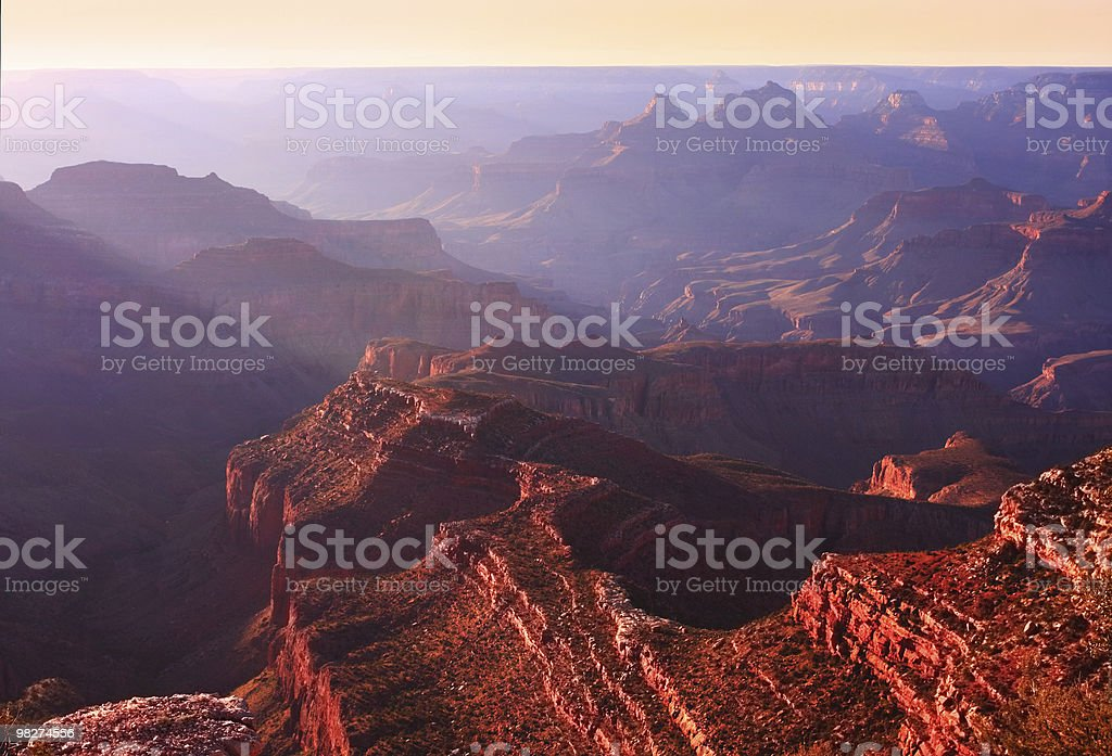 Colors of the Grand Canyon royalty-free stock photo