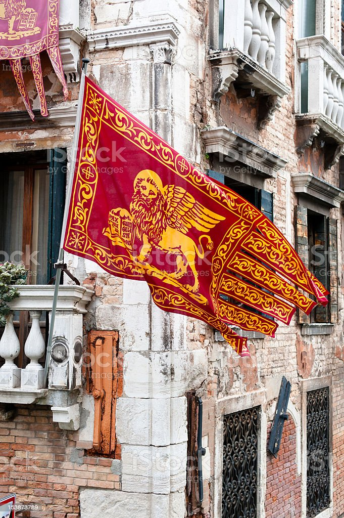 Colors of the Venice royalty-free stock photo