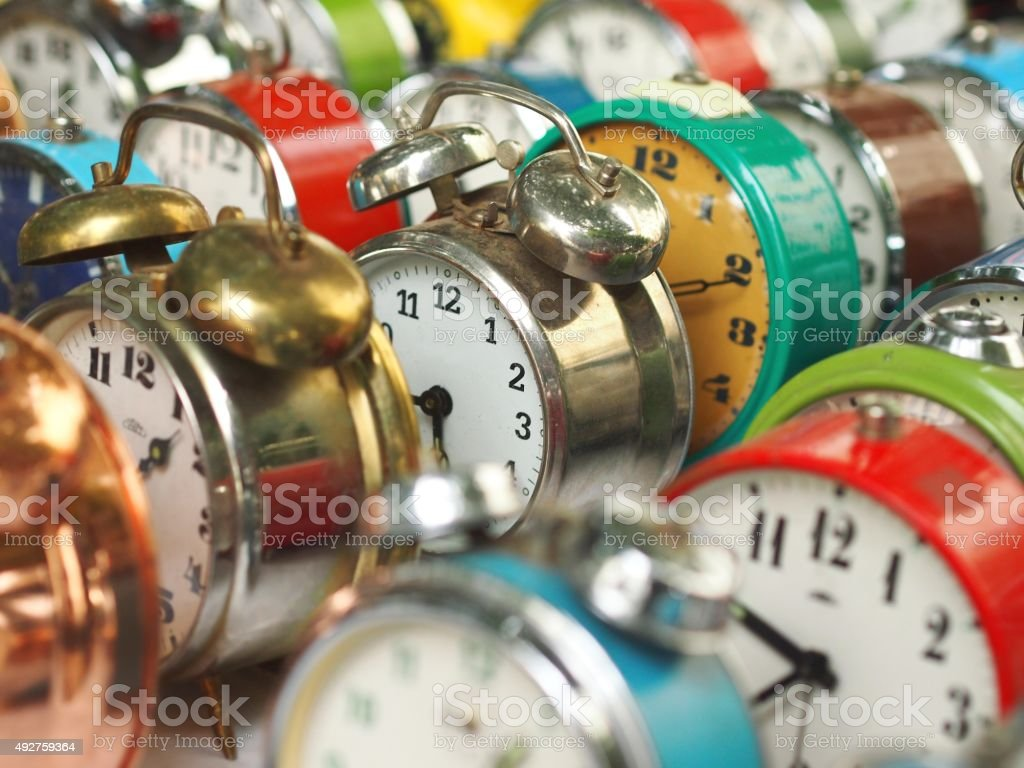 Colors of Time stock photo