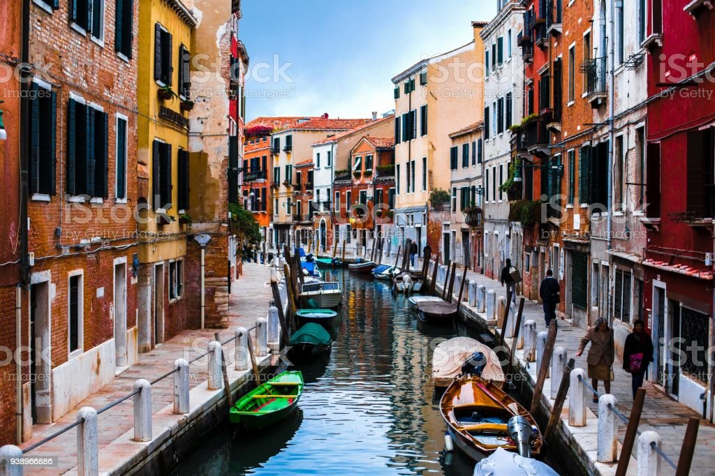 Colors of Venice stock photo