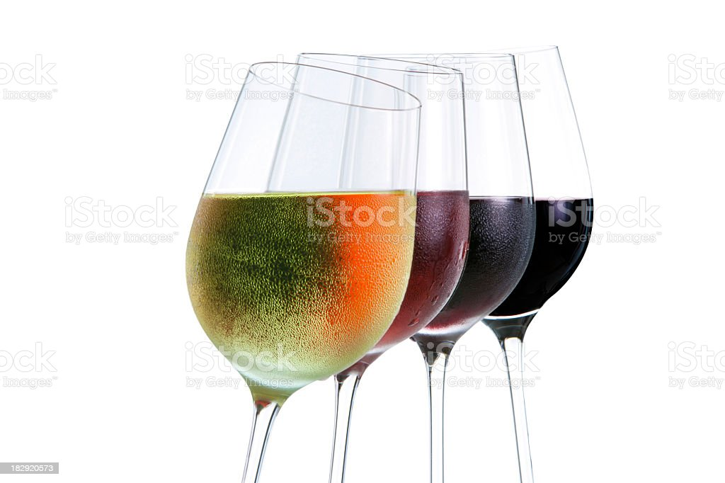 Colors of wine royalty-free stock photo