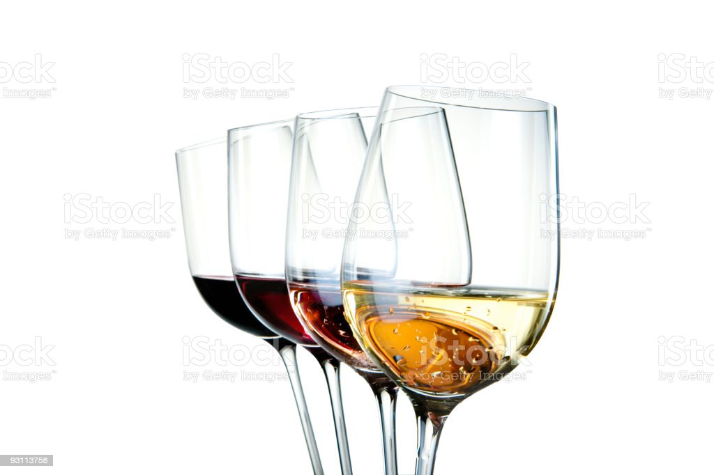 Colors of wine stock photo