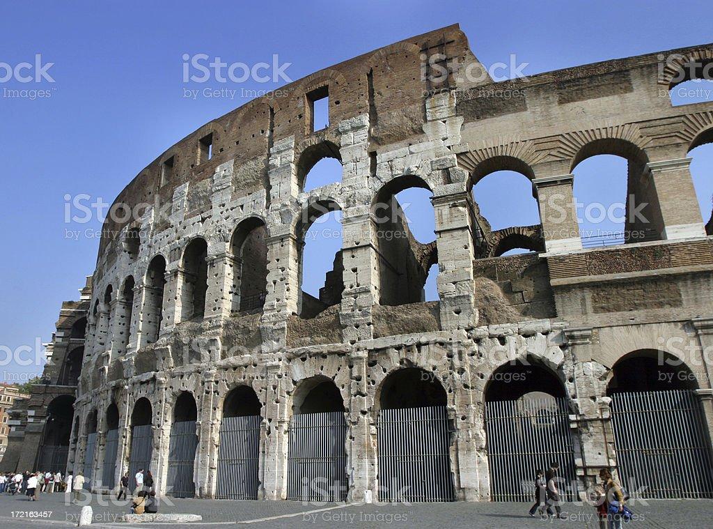 Coloseum, Rome, Italy royalty-free stock photo