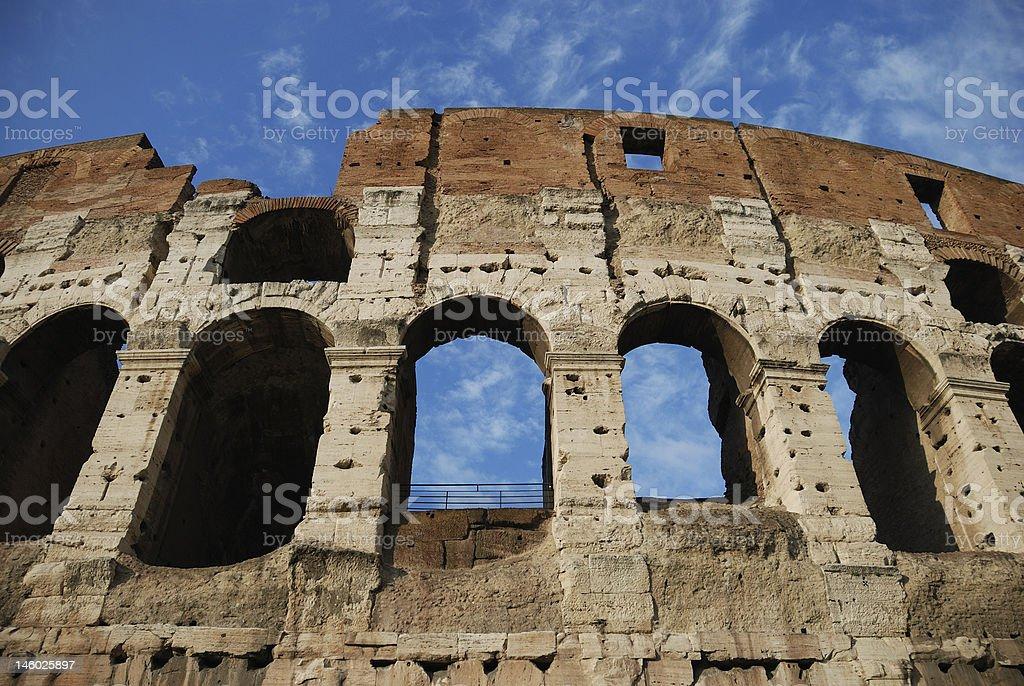 Colosseo (Rome, Italy) royalty-free stock photo