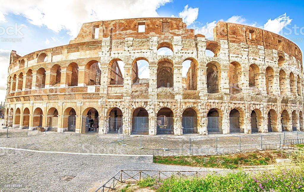 Colosseo Roma Italia stock photo