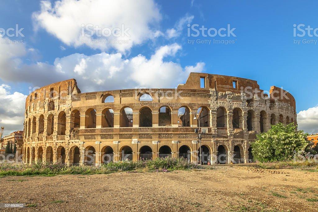 Colosseo Roma Italy stock photo
