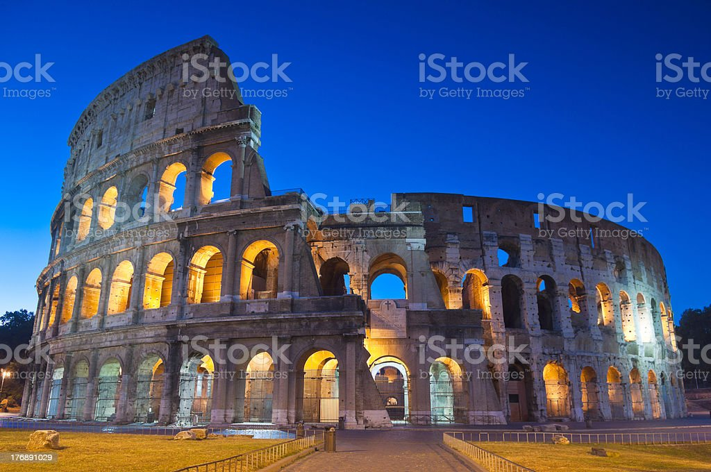 Colosseum, Colosseo, Rome stock photo
