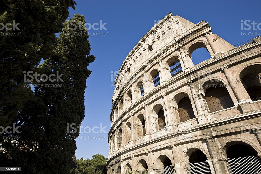 Colosseum during the day royalty-free stock photo
