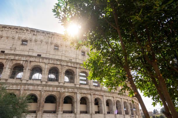 Colosseum in Rome Italy - foto stock