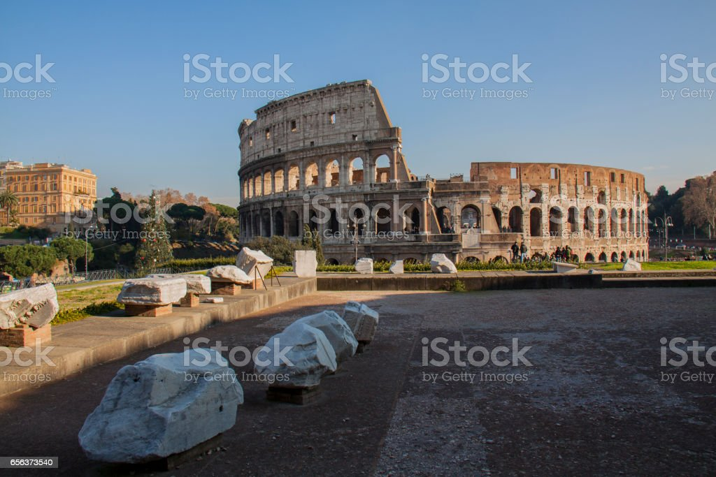 Colosseum in Rome, Italy стоковое фото