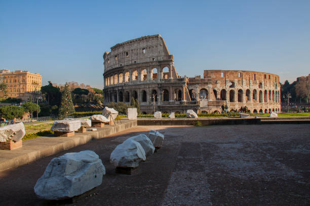 Cтоковое фото Colosseum in Rome, Italy