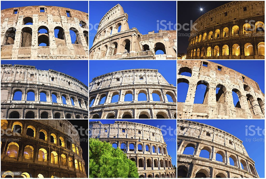 Colosseum in Rome royalty-free stock photo