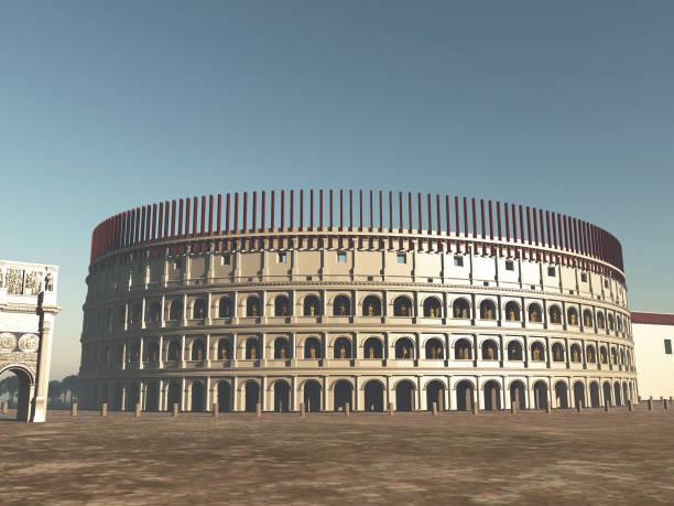 Kolosseum von Rom in der Antike – Foto