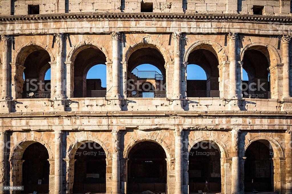 Colosseum of Rome stock photo