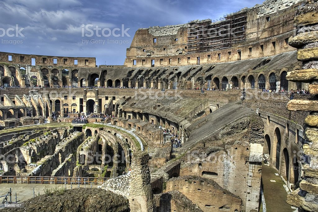 Colosseum royalty free stockfoto