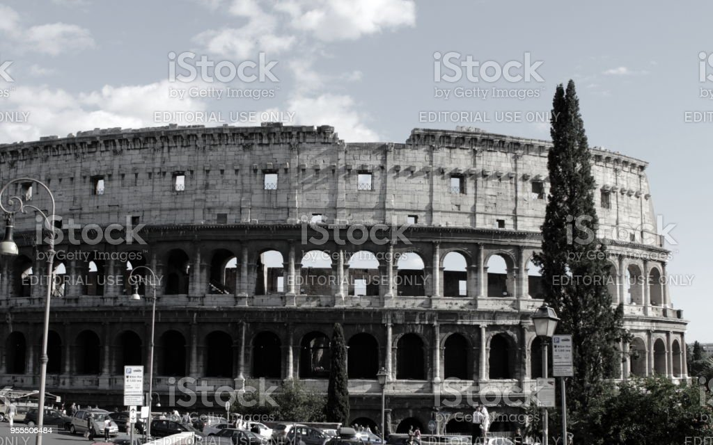 Rome, Italy - May, 2012. Colosseum stock photo
