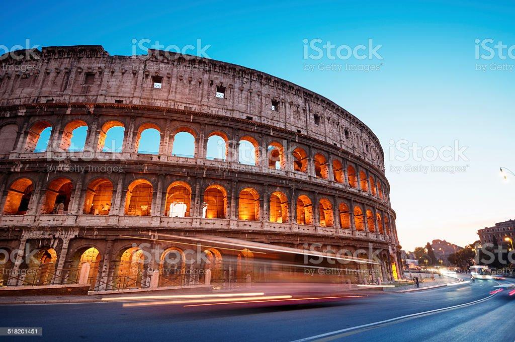 Colosseum, Rome - Italy stock photo