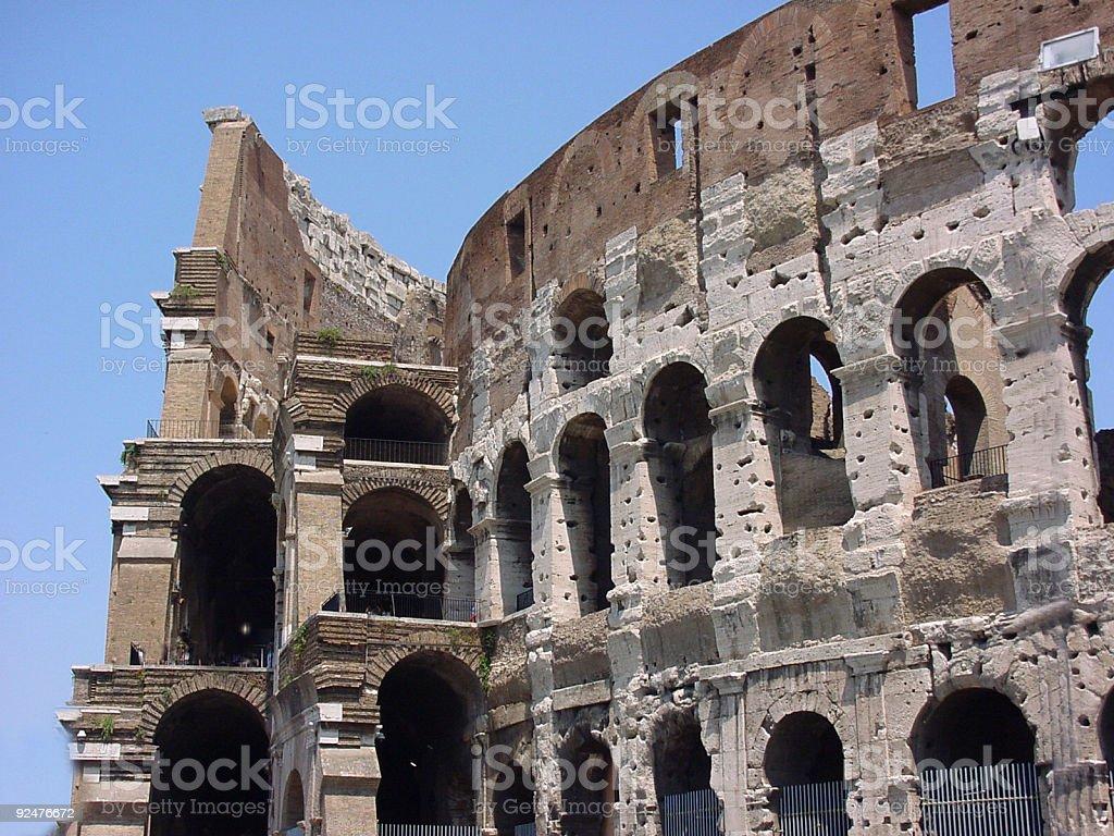 Colosseum Rome Italy royalty-free stock photo