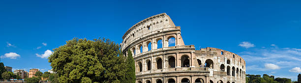 Colosseo Roma panorama Italia  palatine hill rome stock pictures, royalty-free photos & images