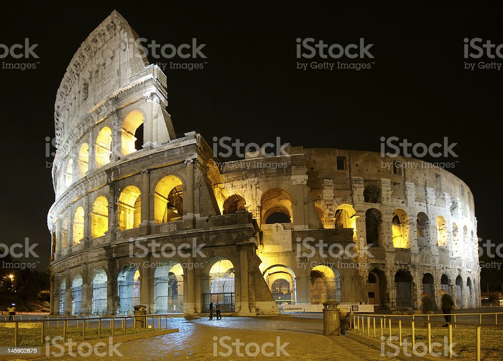 Colosseum Rome royalty-free stock photo