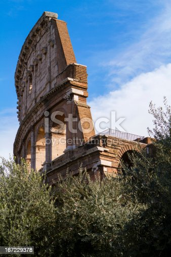 istock Colosseum side view 167229378