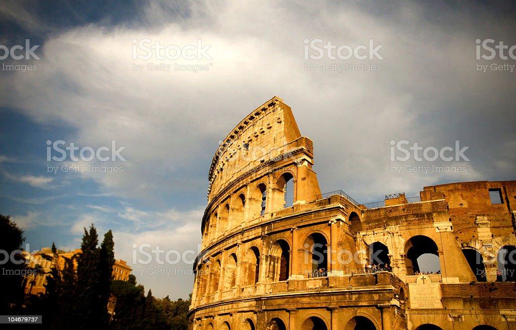 Colosso Roma royalty-free stock photo