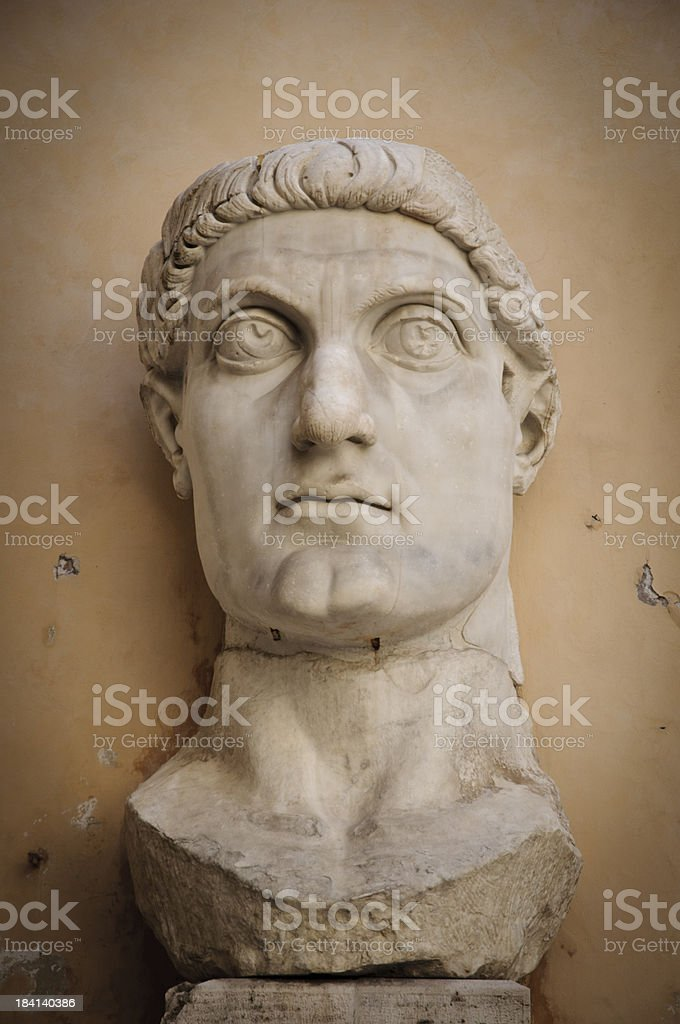 Colossus of Constantine stock photo